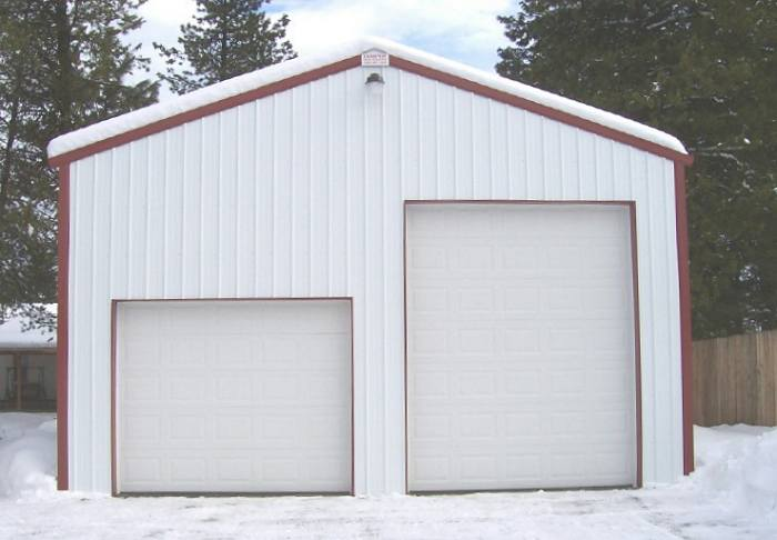 Rv boat storage steel buildings for Rv storage building plans
