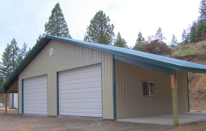 Workshop Steel Buildings Serving Hayden Coeur D 39 Alene