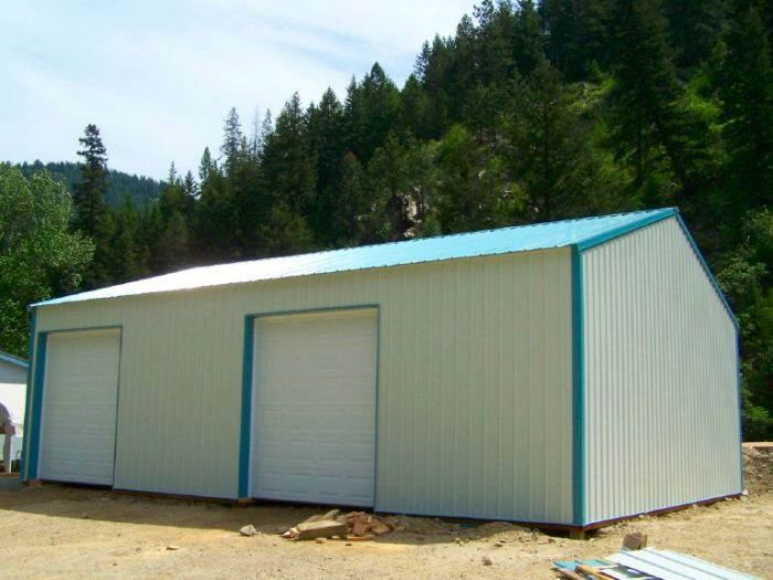 30x40 pole barn cost joy studio design gallery best design for Garage building cost