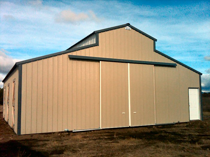 Pole building garages converted to homes joy studio for Steel buildings converted into homes